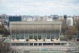 Nebenaudojamų Vilniaus sporto rūmų rekonstrukcija dar brango