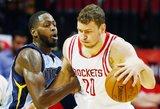 """Donatas Motiejūnas į Niujorką nesikels – """"Rockets"""" pasiūlė sutartį"""