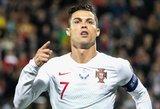 Ronaldo čia patiko: komanda išskrido, o žvaigždė liko Vilniuje