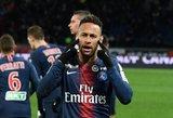 """""""Barcelona"""" derėsis dėl Neymaro, PSG vetuos visus pasiūlymus?"""