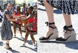 Markle pasirodymas Afrikoje karalienei nepatiktų: kliūva viena detalė