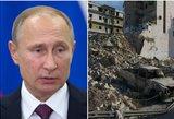 Rusija skelbia apie ugnies nutraukimą ir taikos derybų pradžią Sirijoje