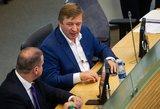 Keičiasi valstiečių planai: žlugus Seimo pirmininko atstatydinimui atidedami seniūno rinkimai