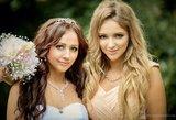 Monika Šalčiūtė apie sesės vestuves: verkiau, esu laiminga, nes matau ją laimingą