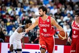 Per plauką nuo sensacijos: Turkija vienu tašku pralaimėjo JAV