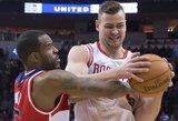 """D. Motiejūnas prie """"Rockets"""" pergalės taškais neprisidėjo"""