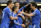 """E. Hazardas atvedė """"Chelsea"""" į """"Premier"""" lygos viršūnę"""