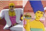 """Pristatyta išskirtinė """"Simpsonų"""" filmuko versija"""