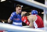 Favoritai pergalingai pradėjo Lietuvos bokso čempionatą