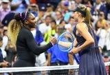 Serena Williams įvertino rusės žaidimą