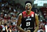Japonai nukovė vokiečius: jaunoji NBA žvaigždė pelnė 31 tašką