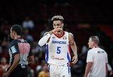 Dominikos Respublika atsilaikė prieš įspūdingai žaidusį duetą