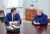 Į ūkio ministrus siūlomas Mindaugas Sinkevičius ruošis ES paramos pabaigai