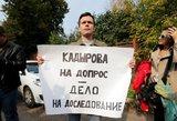 Maskvoje pradėtas Boriso Nemcovo nužudymo bylos teismo procesas