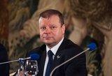 Ministro pirmininko rezidencija Turniškėse stovi tuščia