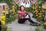 Pirmą kartą tarptautiniame floristikos festivalyje – Rimienė savo floristinio dizaino darbe gėles apjungė su kinetine jėga
