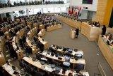 Seimas iš naujo patvirtino 2015 metų biudžetą