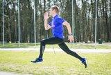 Prie olimpiados vartų trypiantis Remigijus Kančys: geriau išbėgti nei vėliau gailėtis