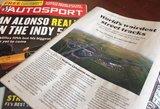 """Anglijos žurnalas """"Autosport"""" bando įminti 1000 km lenktynių Palangoje sėkmės paslaptis"""