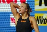 Plaukikė R. Meilutytė – ketvirta tarp geriausių 2013 metų Europos sportininkių pagal AIPS versiją