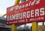 """McDonald's"" pristatė didesnę ir mažesnę ""Big Mac"" versijas"