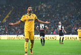 """Mažumoje žaidęs """"Juventus"""" įmušė šešis įvarčius, tris jų – Sami Khedira"""
