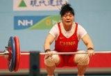Akibokštas: trijų 2008 metų olimpinių čempionų sunkiaatlečių dopingo testai teigiami