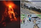 Nubudo galingas ugnikalnis – pradėta masinė evakuacija