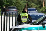 Naujoje Akmenėje BMW partrenkė paspirtuku važiavusį mažametį berniuką