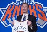 Brazdeikis debiutavo NBA vasaros lygoje – kovojo ir prieš gamtą