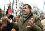 M. Saakašvilis ragina ukrainiečius vėl kilti į kovą