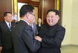 D.Trumpo žinia apie Šiaurės Korėją krečia pasaulį
