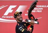 Azerbaidžane – Danielio Ricciardo pergalė