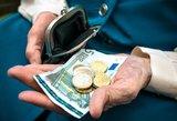 Lietuvai yra ko raudonuoti: pensijos ES – dugne
