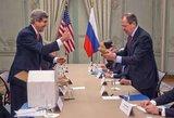 J. Kerry JAV ir Rusijos nesutarimus bandė užglaistyti bulvėmis