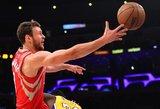 """Donatas Motiejūnas neišgelbėjo """"Rockets"""" nuo pralaimėjimo"""