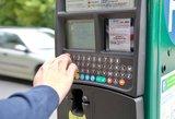 Paaiškino, kur keliauja vairuotojų už automobilių stovėjimą sumokėti pinigai