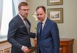 Prezidentui aiškinosi Veryga, po to – Kukuraitis: sprendžiamas jų likimas