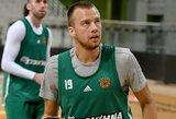 Luko Lekavičiaus komanda iškovojo pergalę paskutiniuoju metimu