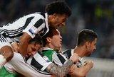 """Italijoje """"Juventus"""" artėja prie eilinio titulo"""