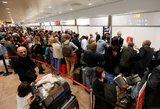 Chaosas Briuselyje: oro uoste įstrigo ir lietuviai