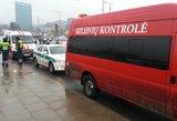 Vilniuje išpuolis prieš kontrolierių