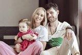 Suvirpins širdis: Stasiulytė įsiamžino jaukioje fotosesijoje su dukra
