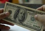 JAV centrinis bankas sumažino bazinę palūkanų normą ketvirčiu procentinio punkto