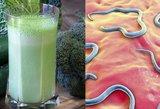 Gėrimas iš 3 ingredientų naikina parazitus: rezultatas nustebins