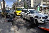 Avarija Vilniuje, Antakalnio rajone: nukentėjo 3 žmonės, tarp kurių ir kūdikis