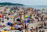 Lietuviai mėgaujasi pajūriu – Palanga neatsidžiaugia rugpjūčio pabaigos orais