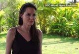 Nesulaikė ašarų: Angelina Jolie pirmą kartą prabilo po skyrybų