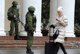 Pasirodė vaizdo įrašas, kaip Kryme su automatais užpulti AP žurnalistai