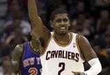Geriausi savaitės NBA krepšininkai – Kyrie Irvingas ir Zachas Randolphas